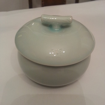 Pale Green Celadon glaze Bowl - Kitchen