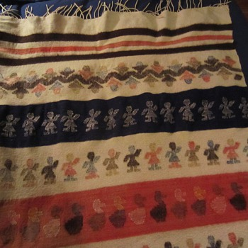 Vintage Wool Blanket - Rugs and Textiles