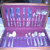 Vintage real silverware set.   Need help identifying