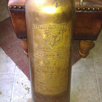 Elkhart Brass Fire Extinguisher - Firefighting