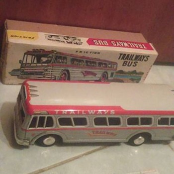 Japan Trailways Bus with Ruler !