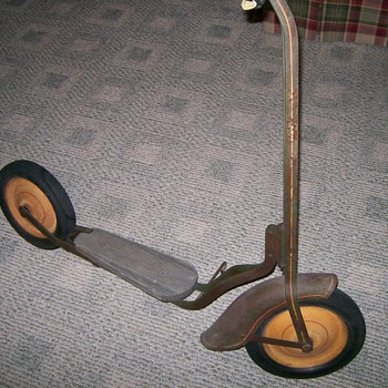 Couple of old Childrens Scooters