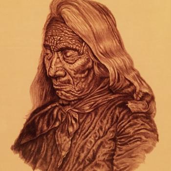 Native American prints signed Richard w pemberton