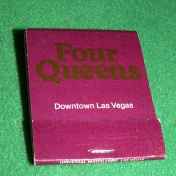 Vintage Four Queens Casino ~ Las Vegas, Nevada (Fremont Street)