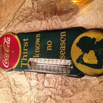 Thermometer before and after  - Coca-Cola
