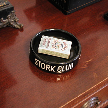 Stork Club ashtray