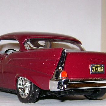 1957 Chevy Bel Air - Model Cars