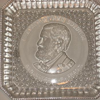 Grant Glass Plate - Glassware