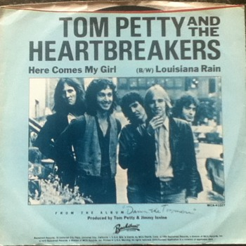 Tom Petty and the Heartbreakers 45 Record