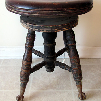 Early 1900s Piano Stool