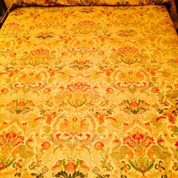 Beautiful Antique Coverlet - Rugs and Textiles