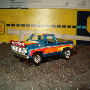 H.O. SCALE AFX CHEVY PICK-UP CUSTOM