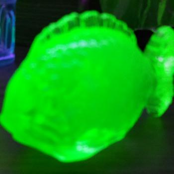 "Nemos Cousin-""Ne-Glow""!Uranium Fish!"