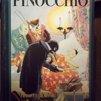 Pinocchio 1932 - Books
