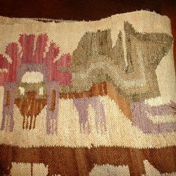 Very Old Wool Rug/Blanket--Need Help Identifying