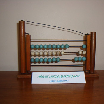 ABACUS CATTLE COUNTING GATE