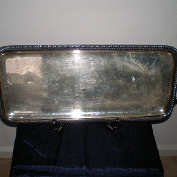 My Favorite British 18th or 19th Century Sterling Tray - Sterling Silver