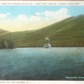 1930 Lake George Postcard - Postcards