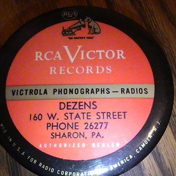 RCA Victor,, record cleaner. - Records