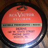 RCA Victor,, record cleaner.