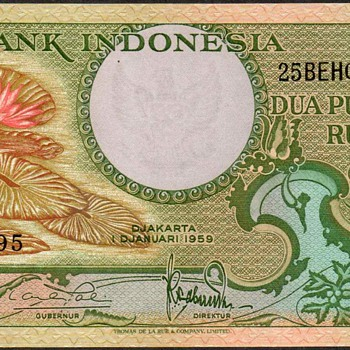 Indonesia - (25) Rupiah Bank Note