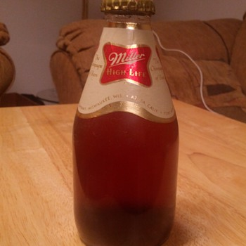 Old Pepsi Bottle and Miller High Life! - Bottles