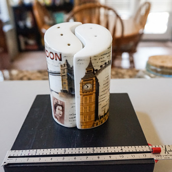 London Salt & Pepper Shakers