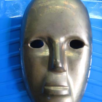 Brass Mask.. - Visual Art