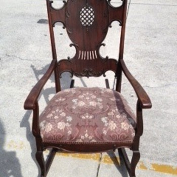 Great uncles European rocking chair