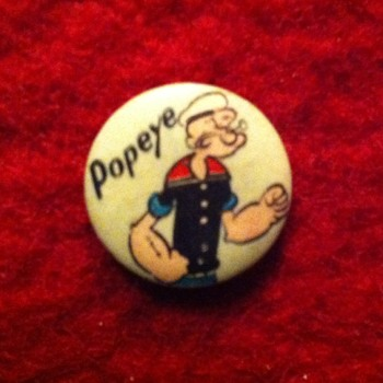 Early gumball pinback