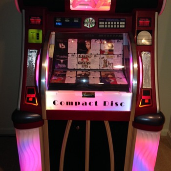 The Venus CD Jukebox - Coin Operated