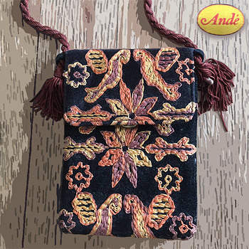 Patty's Ande Embroidered Bag Brought to Woodstock 1969 w Provenance - Accessories
