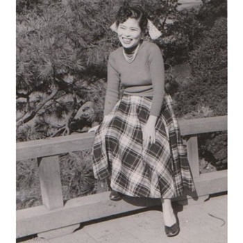 MY DEAR MOTHER <> PHOTO TAKEN CIRCA 1954, TOKYO, JAPAN