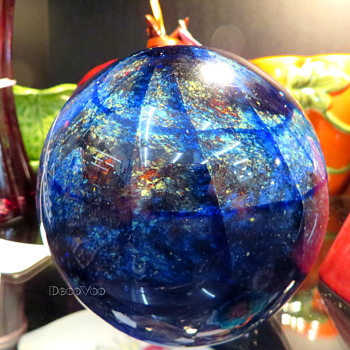 Murano glass paper weight