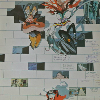 Pink Floyd,The Wall, LP Columbia Records 1979