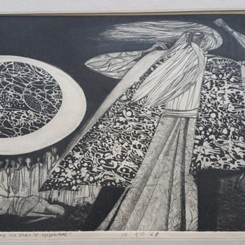 "Original art ""that man may no more be oppressed  - Visual Art"
