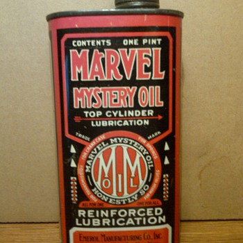 Marvel Mystery Oil Can