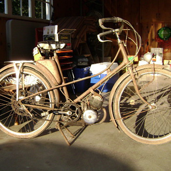 1954 Mobylette ready for restoration.