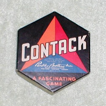 1939 - Contack Board Game - Games