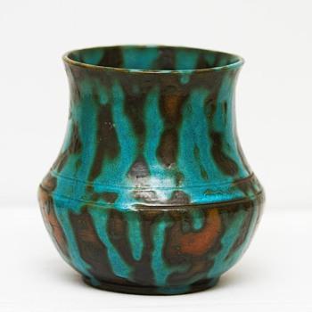 Rye Pottery Vase (England), ca. 1930  - Art Pottery