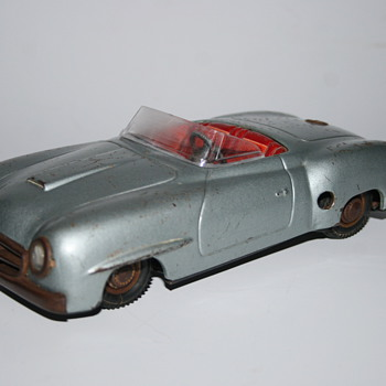 JNF mercedes 190 convertible tin toy