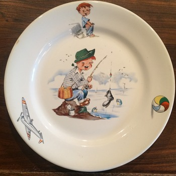 Child's Plate 9""
