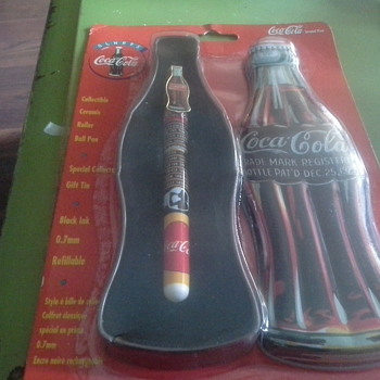 Collectible  Ceramic Coke Pen