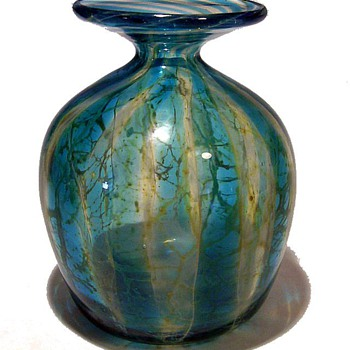 Mdina Vase  - 1970's - Art Glass