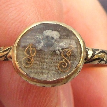 UPDATE:  Stuart Era Memento Mori Enameled Skull Device Mourning Ring