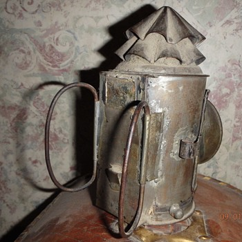 Vintage Bicycle Lantern or Railroad Related?