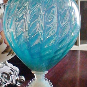Blue Art Glass
