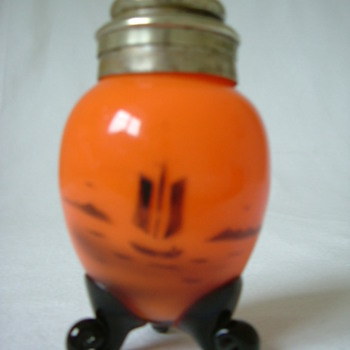 Czech Tango Glass Pepper Shaker - Art Glass