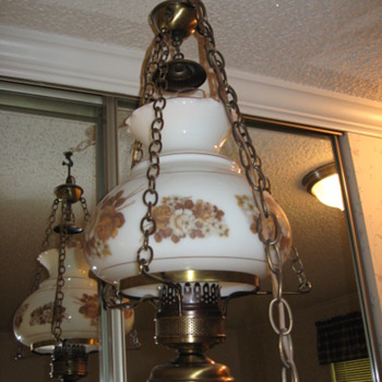 Vintage Swag Lamps