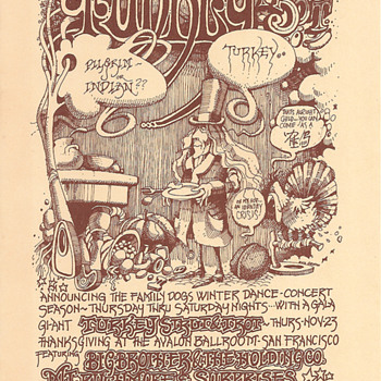 Thanksgiving, Avalon Ballroom, 1967